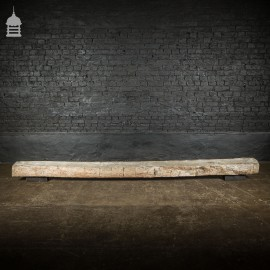 Rustic Waney Edge Reclaimed Seasoned Oak Beam Slab