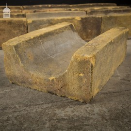 Reclaimed Buff Gully Bricks Drainage Blocks