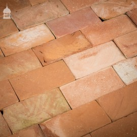 Batch of 530 Mixed Red Floor Bricks Cut From Bricks