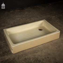 19th C Shallow Cane Belfast Butler Sink Trough