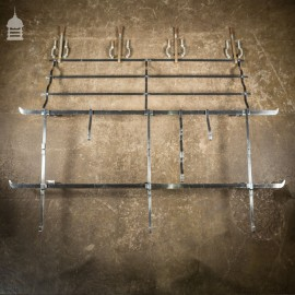 A 1950's Butchers Stainless Steel Meat Display Rack