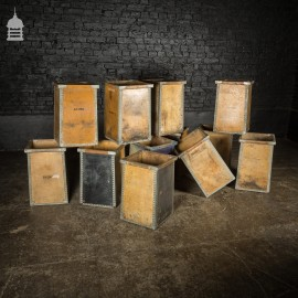 Industrial Plywood and Metal Waste Bin Storage Box