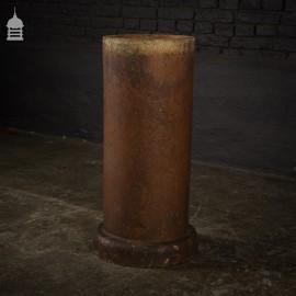 Tall Salt Glazed Tube Pipe Planter
