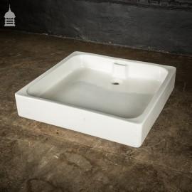 Large Vintage Ceramic Bathroom Shower Tray