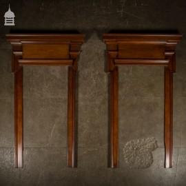 Pair of Edwardian Oak Door Surrounds Architraves