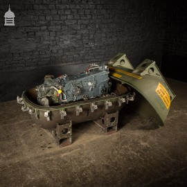 RAF Tornado Rolls Royce Gearbox Complete with Aluminium Industrial Shipping Capsule Crate