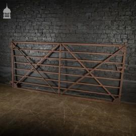 18th Century 9ft Strap Iron Farm Gate
