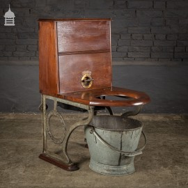 19th C Moule's Patent Earth Closet by Reverend Henry Moule