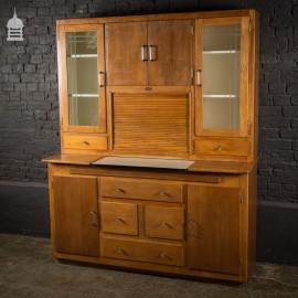 Vintage 1930's Easiwork Kitchen Cabinet Streamline Model