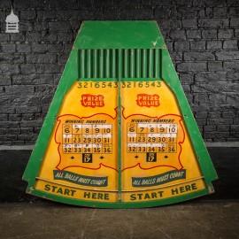 Vintage Yellow and Green Fun Fair Ball Game