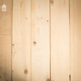 30 Square Metres of Pine Floorboard Wall Cladding Cut from Reclaimed Joists