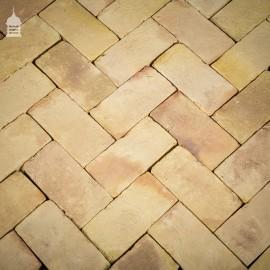 New Traditionally Handmade 12 x 6 Buff Floorbricks Floor bricks