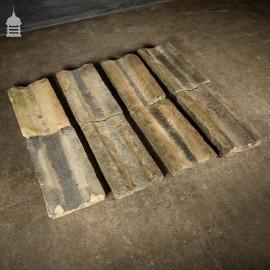 Set of 8 Reclaimed Yorkstone Gully Blocks