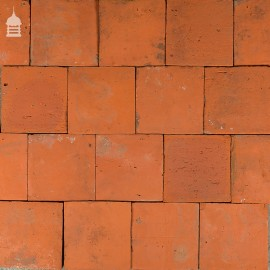 Reclaimed Original 7 Inch x 7 Inch Quarry Tiles 7x7 Floor Tiles