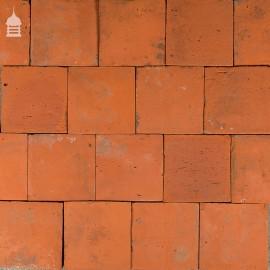 Reclaimed Original 7 Inch x 7 Inch Quarry Tiles 7x7 Floor Tiles