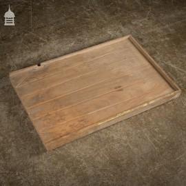Original Condition Vintage Mahogany Draining Board
