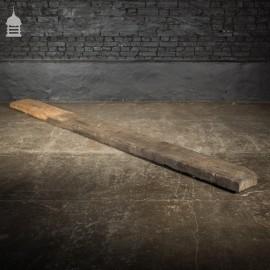 Reclaimed 10 Inch Wide Rustic Bog Oak Broads Piling Boards