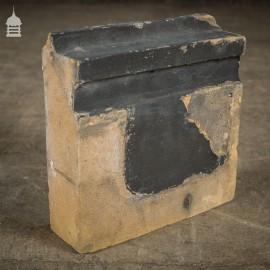 Batch of 18 Suffolk White Buff Special Header Bricks