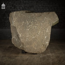 Large 2 Ton Granite Neolithic Carving Standing Stone Boulder