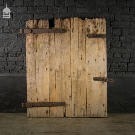Reclaimed Antique Elm Ledged Barn Door