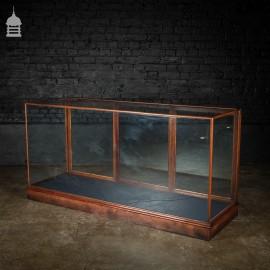 Victorian Mahogany Glazed Shop Display Cabinet