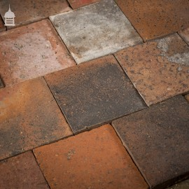 """Staffordshire Blue Black 9¼"""" x 9¼"""" Inch Quarry Tiles with Worn Faces"""