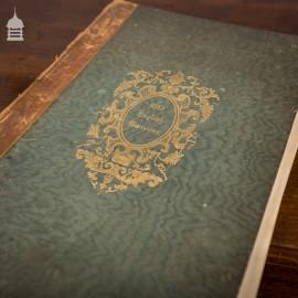 Rare Original Charles James Richardson Volume of Studies from Old English Mansions 1841