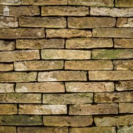 """Batch of 52 Norfolk Handmade Reclaimed Tudor 2"""" Bricks"""