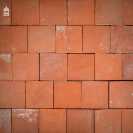 """Batch of 350 Victorian Red 7"""" x 7"""" Quarry Tiles – 11 Square Metres"""