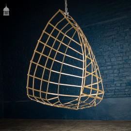 Handmade Strap Iron Egg Chair
