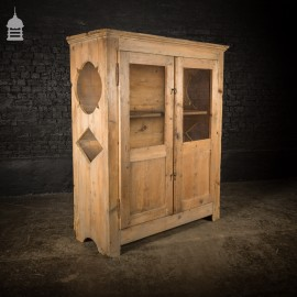 Large French Pine Meat Safe Circa 1860