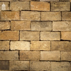 "Batch of 570 Buff 9"" x 4"" Georgian Floor Bricks - 13 Square Metres"