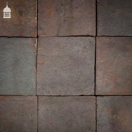 "Batch of 29 Staffordshire Blue 12"" x 12"" Pamments Quarry Tiles - 2.5 Square Metres"