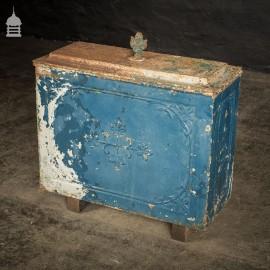 19th C Cast Iron Ornate Cistern