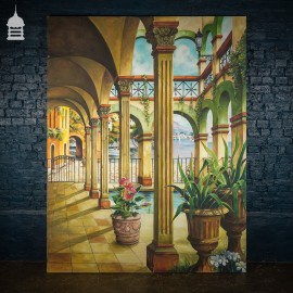 A Modern Large Scale Set Dressing Venetian Painting