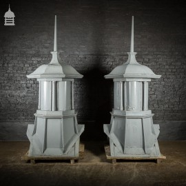 Pair Of Matching Cupola Ridge Vents Circa 1830 With Later Repairs