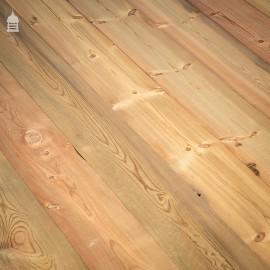 """18 Square Metres of 6 ¾"""" Resawn Pine Floorboards"""