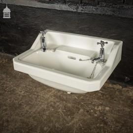 Circa 1900 Johnson Bros. Peeras White Ceramic Sink
