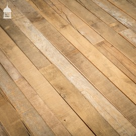 23 Square Metre Batch of Seasoned Brushed Narrow Oak