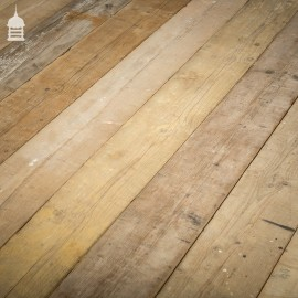 82 Square Metre Batch of Worn Face Mixed Thickness Scaffold Board Wall Cladding