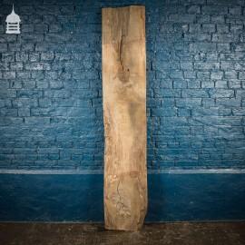 Thick Plank of Seasoned Oak