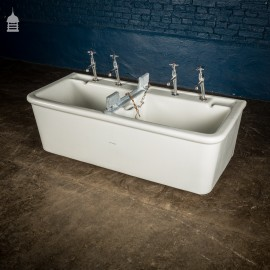 Twyfords Vintage Double Laundry Trough Sink