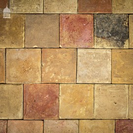 """Batch of 159 Reclaimed 9"""" x 9"""" Buff Pamments – 8 Square Metres"""