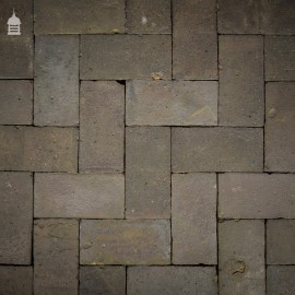 """Batch of 200 Staffordshire Blue 10"""" x 5"""" Stable Pavers - 6 Square Metres"""