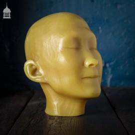 19th C Wax Mannequin Death Mask