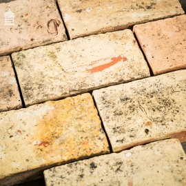 Original Reclaimed Handmade Buff Floorbricks