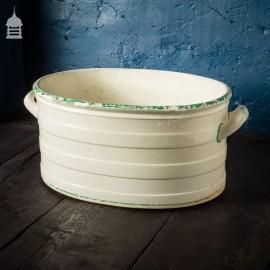 19th C Ceramic Footbath