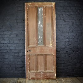 Multiple Paneled Pine door 19th C