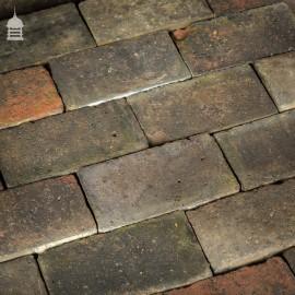 Batch of 538 Reclaimed Staffordshire Blue Floorbricks Floor Bricks