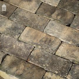 Batch of 212 Reclaimed Staffordshire Blue Floorbricks Floor Bricks